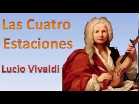 Para inspirar tus caligramas, escucha Las cuatro estaciones de Antonio Vivaldi
