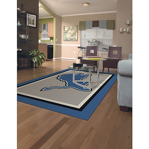 Man Cave Urban Areas : Miliken company detroit lions ft in