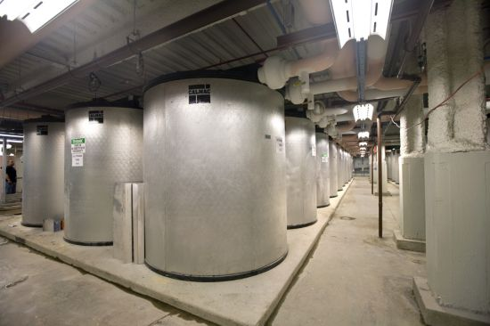 Thermal energy storage, perhaps the most economical and widely-used energy storage technology, is usually placed at the site of electricity consumption. #energystorage