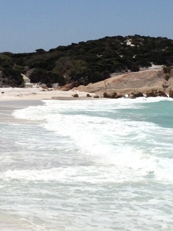 Surf at Little Beach, Two Peoples Bay National Park, Albany, Western Australia.