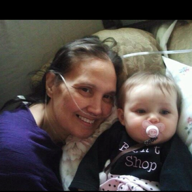 Mom and niece! I love these two beautiful woman!
