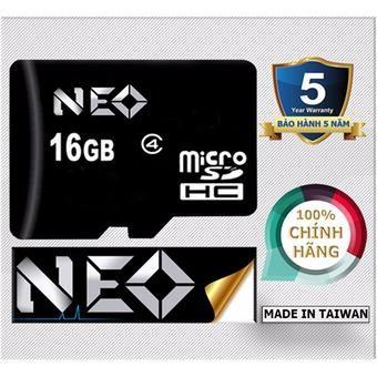 Mua Thẻ nhớ 16GB NEO micro SDHC - Hãng phân phối chính thức(16GB) chính hãng, giá tốt tại Lazada.vn, giao hàng tận nơi, với nhiều chương trình...