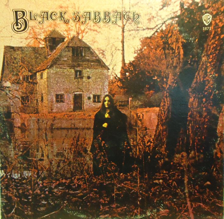 Black Sabbath Black Sabbath Vinyl Lp Warner Bros Black Sabbath Albums Black Sabbath Black Sabbath Album Covers