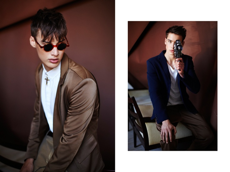 HE - Zsólyomi for HeStyle editorial (www.hestyle.blog.hu) Models: Roberto and Kolos (Wam Models), Photo: Zsólyomi Norbert