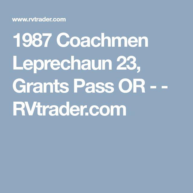 1987 Coachmen Leprechaun 23, Grants Pass OR - - RVtrader.com