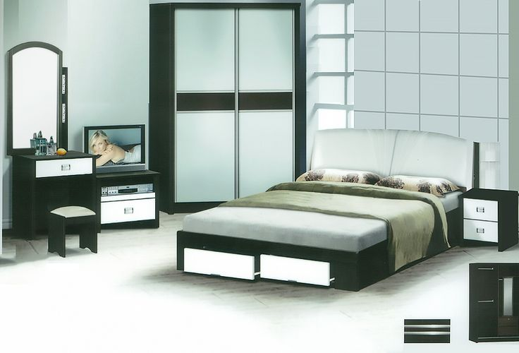 The Philippe Bedroom Set Description: Specially designed, sleek and classy, the Philippe bedroom set was design to its finest lines. Keeping it simple and neat with clean lines, it consists of a 2 sliding door wardrobe.