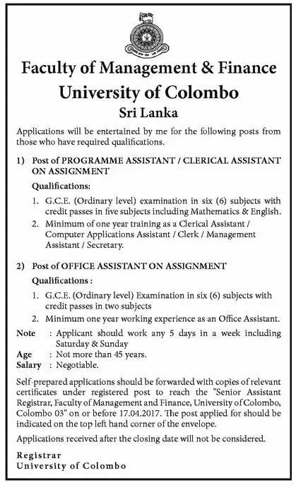 21 best Management jobs images on Pinterest Management, Sri - purchasing assistant job description