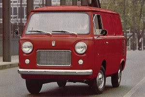 Fiat 850T van:  My first ever 4 wheeled vehicle.  Number plate was AYX and always called Aches'n'pains. It came with 3 starter motors.....one had the added excitement of trying to start the engine backwards.
