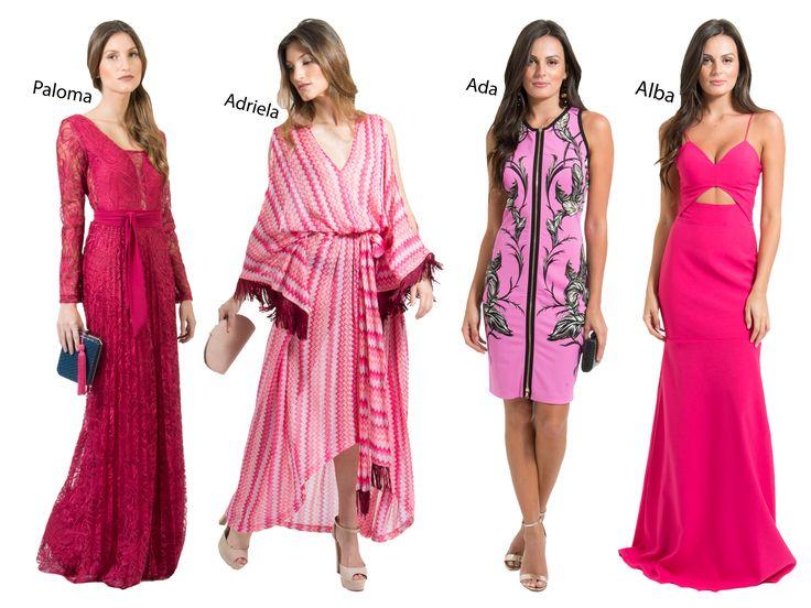 POWERLOOK - Aluguel de Vestidos Online – O Pink voltou com tudo! Muitas vezes associada ao romantismo, esta cor ganha um novo sentido: PODER E ESTILO!! Olha que lindos os vestidos Paloma, Adriela, Ada e Alba! Inspire-se #alugueldevestidos #powerlook  #madrinha #casamento #festa #party #glamour #euvoudepowerlook  #dress #dreams #arrase #alugue  #devolva #modaconsciente  #pink #rosa #paloma #adriela #ada #alba