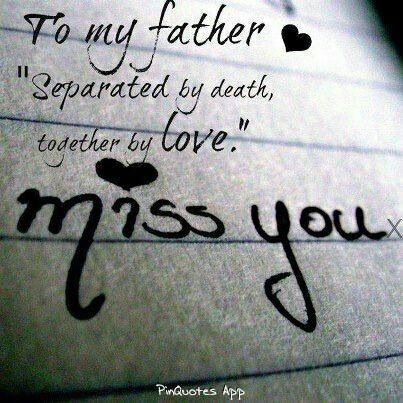 I miss you dad.....