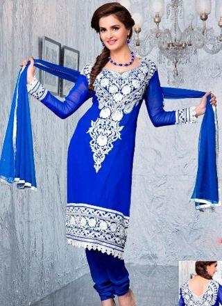 Beautiful Blue and Green Dress 1001 http://www.angelnx.com/Salwar-Kameez