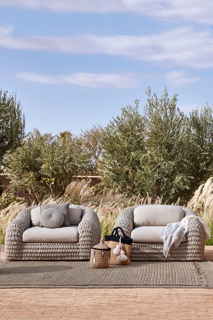 Luxurious Designer Contemporary Outdoor Garden Armchair Juliettes Interiors In 2020 Contemporary Outdoor Furniture Luxury Outdoor Furniture Contemporary Outdoor