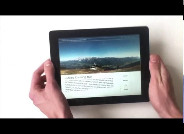 NOUS iPad Magazine by Cila Design. About climbing and hiking.