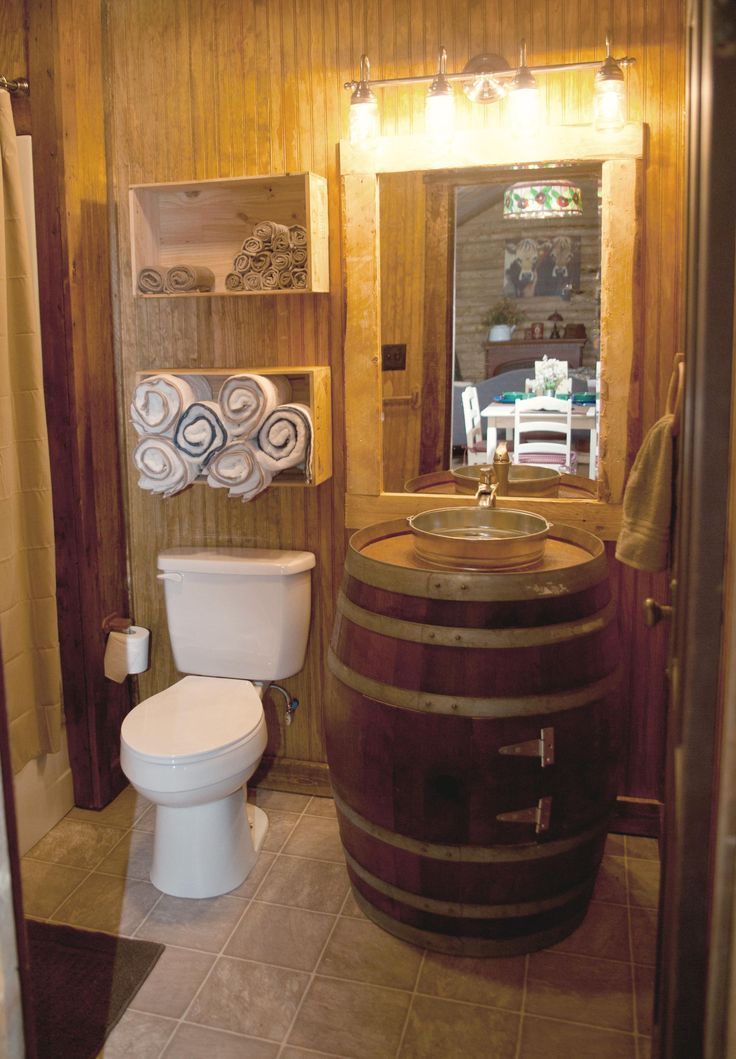 Manly Bathroom Sinks: 17 Best Ideas About Barrel Sink On Pinterest