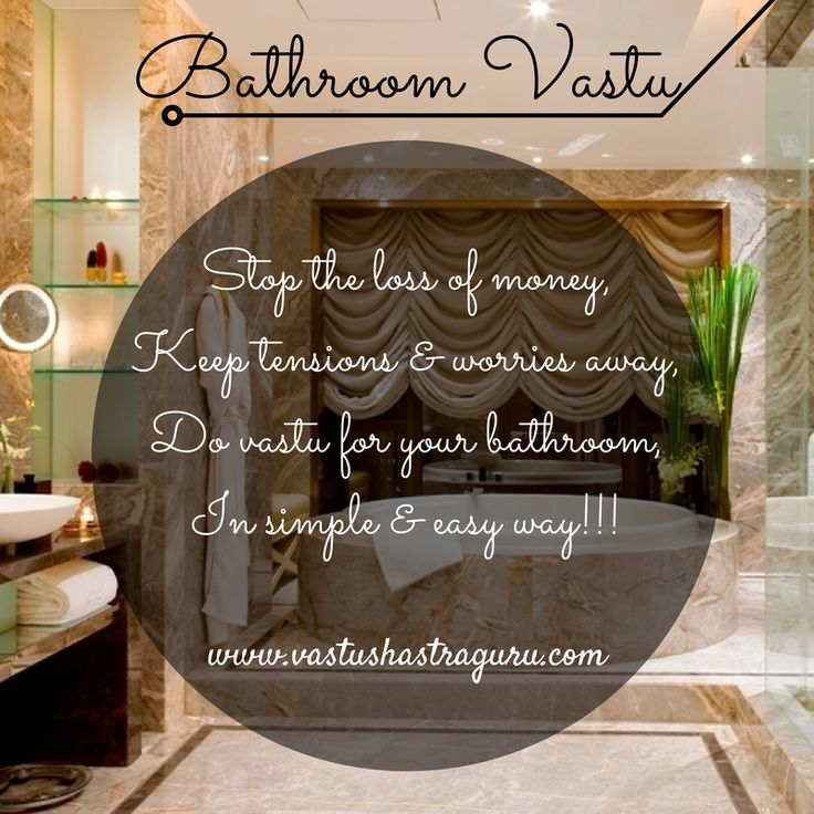 You might NOT KNOW that a vastu non-compliant toilet and bathroom attracts financial and health related troubles into your home; hence it's utmost important to do vastu for them.