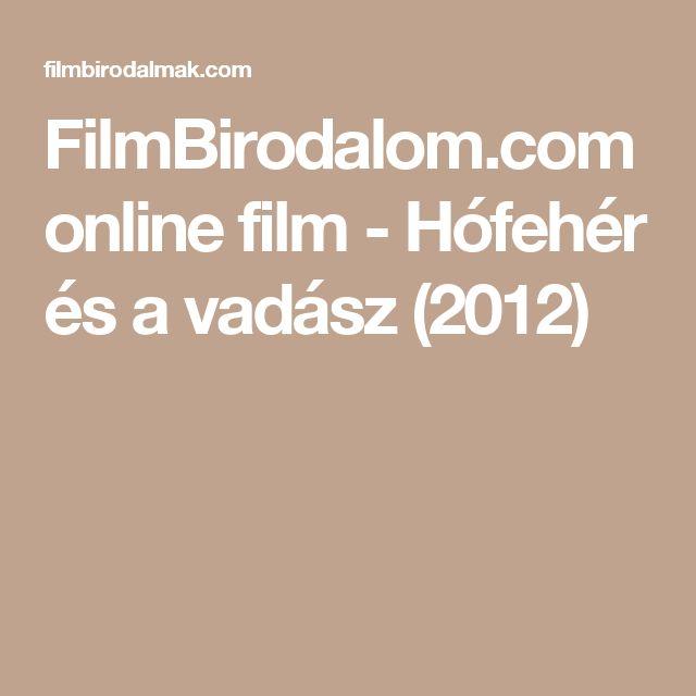 FilmBirodalom.com online film - Hófehér és a vadász (2012)