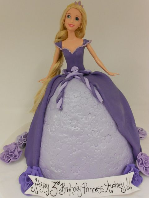 Rupunzel Doll Cake (1025) | Flickr - Photo Sharing!