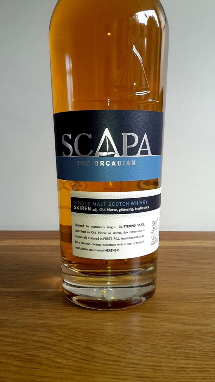 Scapa - Single Malt Scotch Whisky - Orkney Island