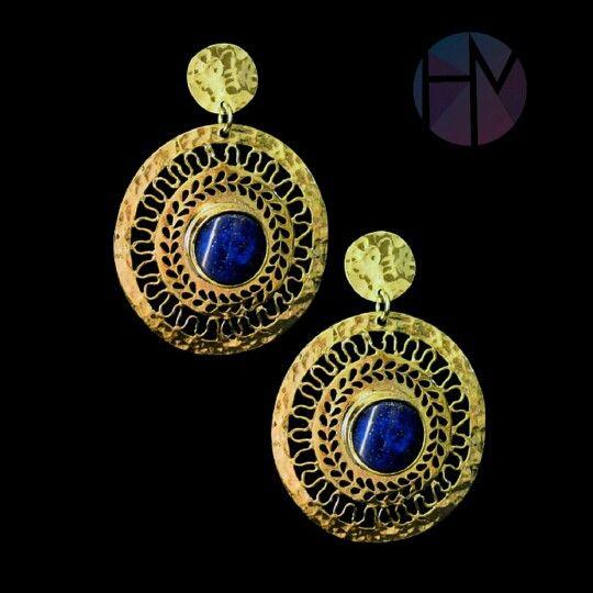 Lápiz lazuli (hecho a mano)