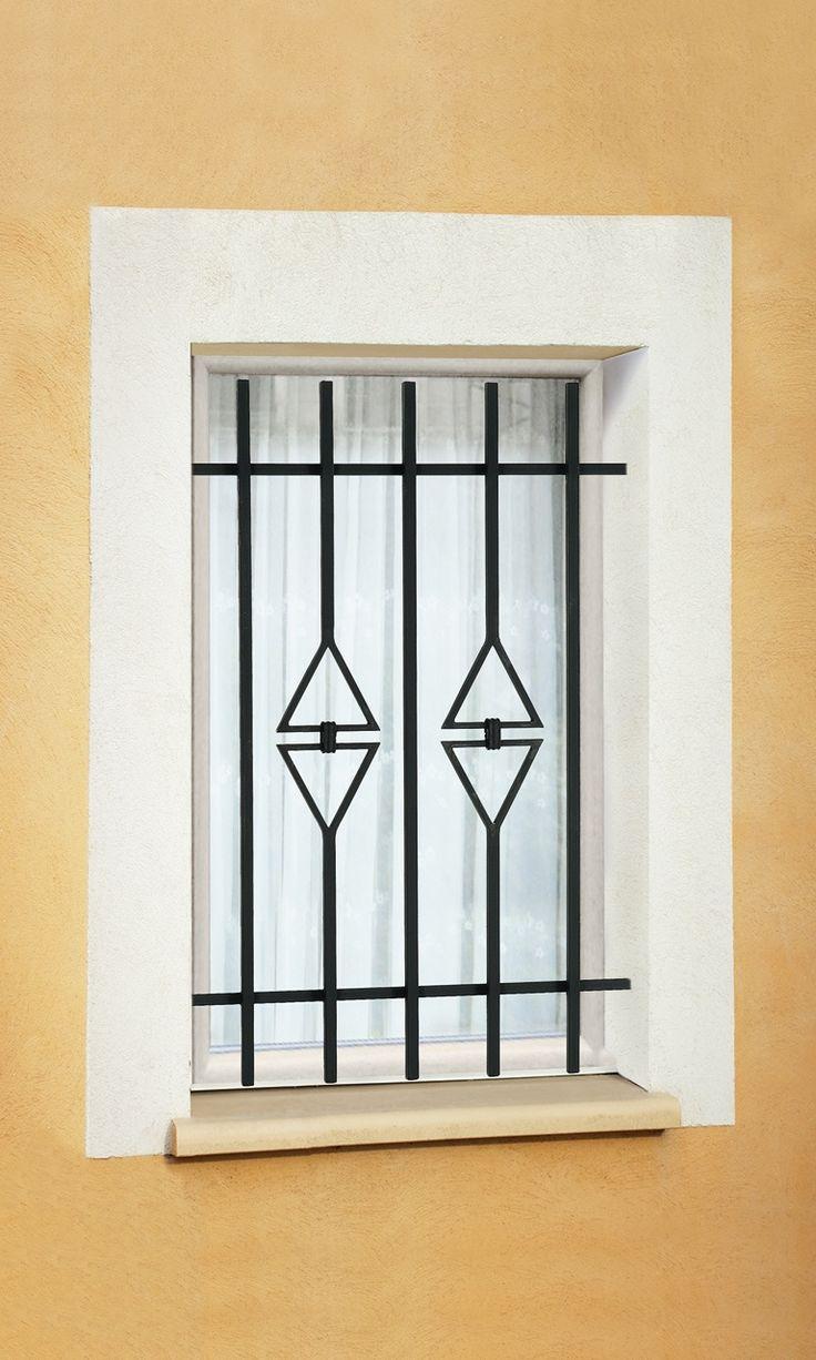 Best 26 Window Grill images on Pinterest | Door design, Iron doors ...