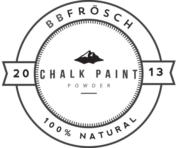 BB Frosch Chalk Paint Powder. Add it to any color latex paint and you have instant chalk paint. Much more economical than buying the high-end chalk paints!