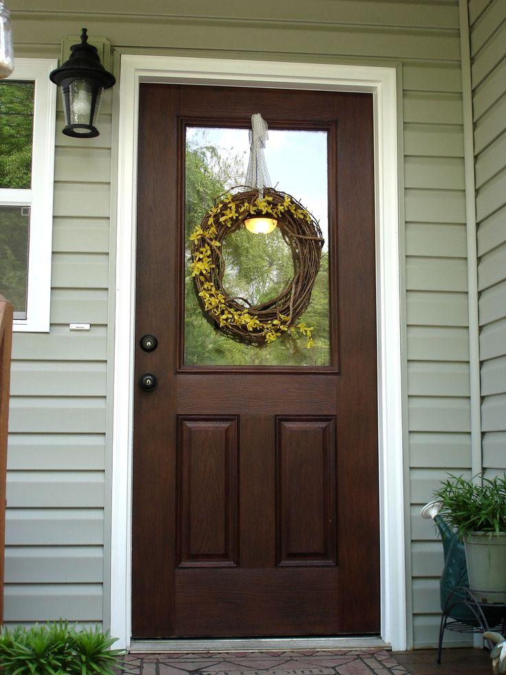 Minwax Gel Stain - Walnut    For the front door