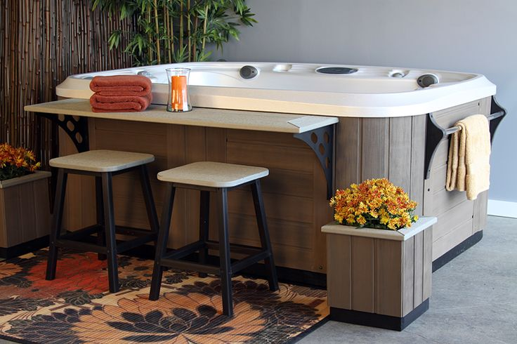 hot+tub+surround | Marquis Environments surround your hot tub with custom modules to ...