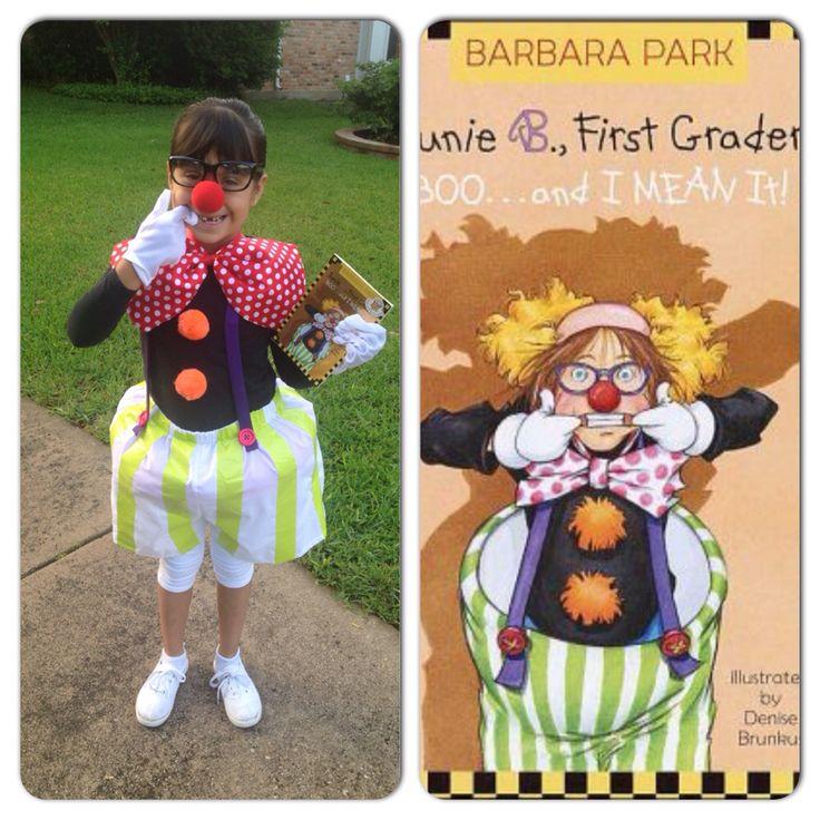 Book character parade easy Junie B Jones costume