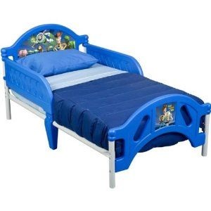 (Toy Story Toddler BedToy Story Toddler Bed) $54.98 Sweet dreams! This bed is not only durable and cute but a life saver. My 2 year old son would not sleep in his room until I purchased this bed. He sleeps in it all night.... [Click for more info]