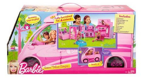 Amazon Black Friday – Barbie and Her Sisters in a Pony Tale RV Vehicle – $60 (reg. $90)