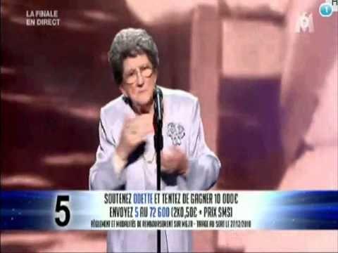 Odette - Final de La France a un Incroyable Talent 2010