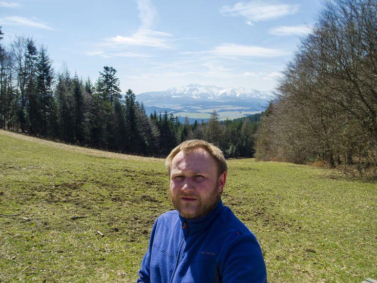 Selfie na Przełęczy Szopka