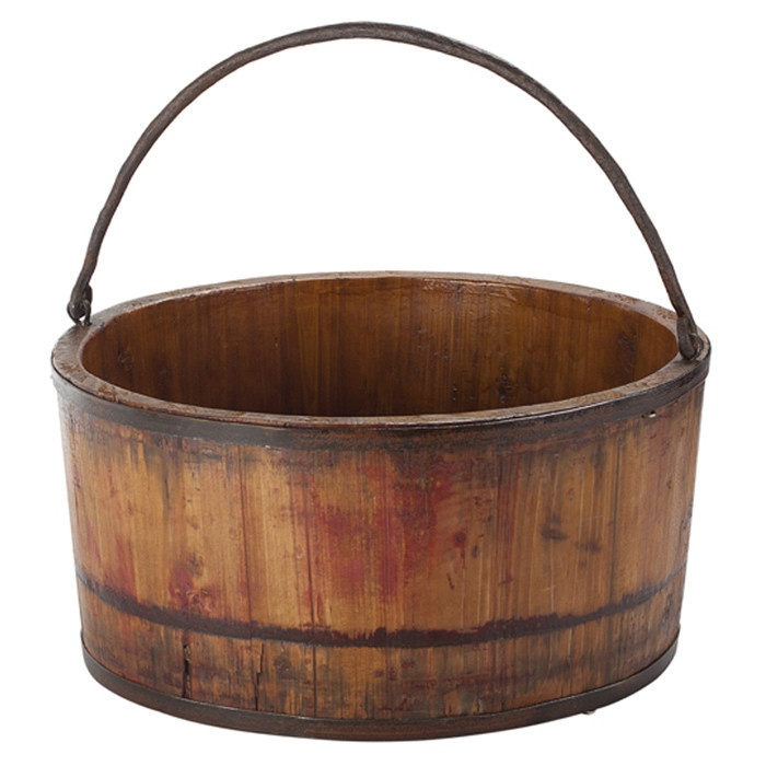 Decatur Bucket – looks good even for the wellness or sauna area