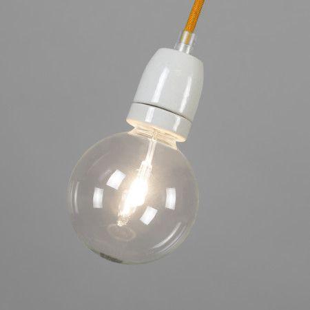 Lampa wisząca Cavo pomarańczowa