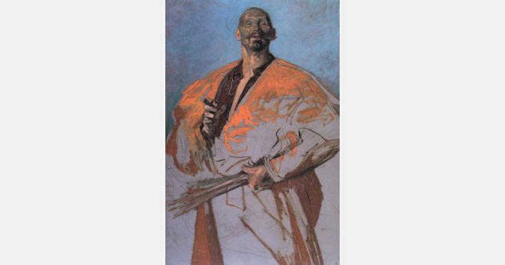 """Jacek Malczewski, """"Portret Leona Wyczółkowskiego"""", ok. 1895, olej na płótnie, fot. Muzeum Narodowe w Krakowie"""