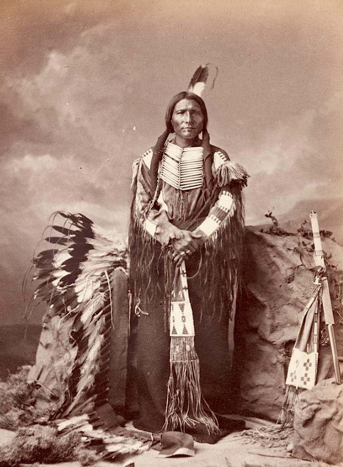 Little Big Man. Oglala Lakota. 1877. Source - Princeton Digital Library.