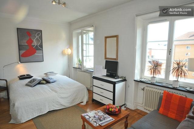 Bedroom in Sodermalm