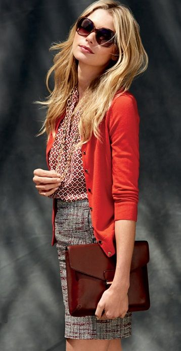 Pretty much own this outfit already. Cardigans forever! Banana Republic