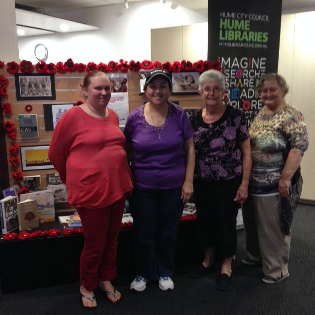 Check out the beautiful poppies made by the Broadmeadows Yarnz group in time for ANZAC day. Grab your wool, knitting needle or crochet hook and come along to this MakerSpace group. Share ideas, meet new friends and learn new ways of making things with yarns and wool. Click through to see meeting times.