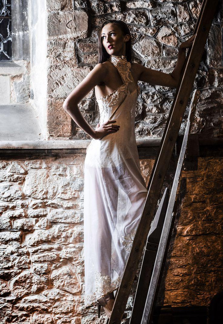 Corset And Cover Sarah Elizabeth Model Harri Cheal