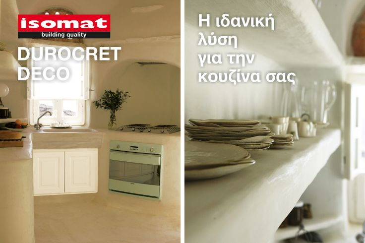 Constructions tailored to your taste and imagination! DUROCRET-DECO will help you renovate your living space promptly and with low cost.