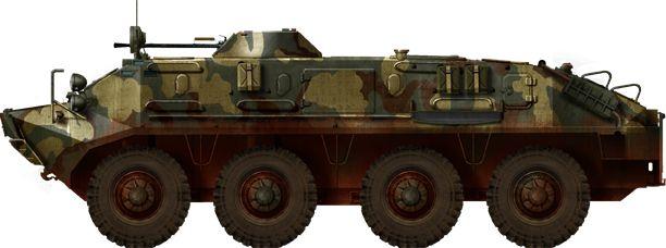 BTR-60 amphibious APC/IFV.
