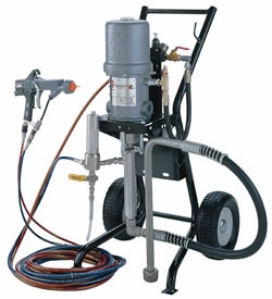 PHOTO OF A GRACO PRESIDENT TEXTURED WALL COATINGS SPRAY PUMP