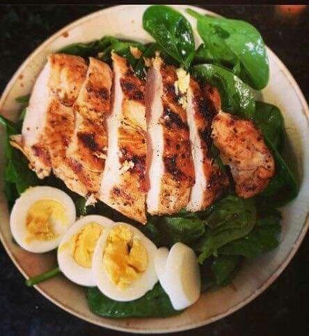 Comida rica en proteína y muy fácil de preparar