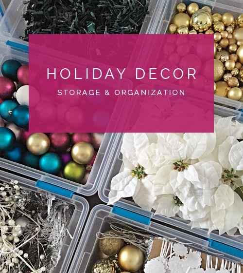 1000+ Ideas About Christmas Storage On Pinterest