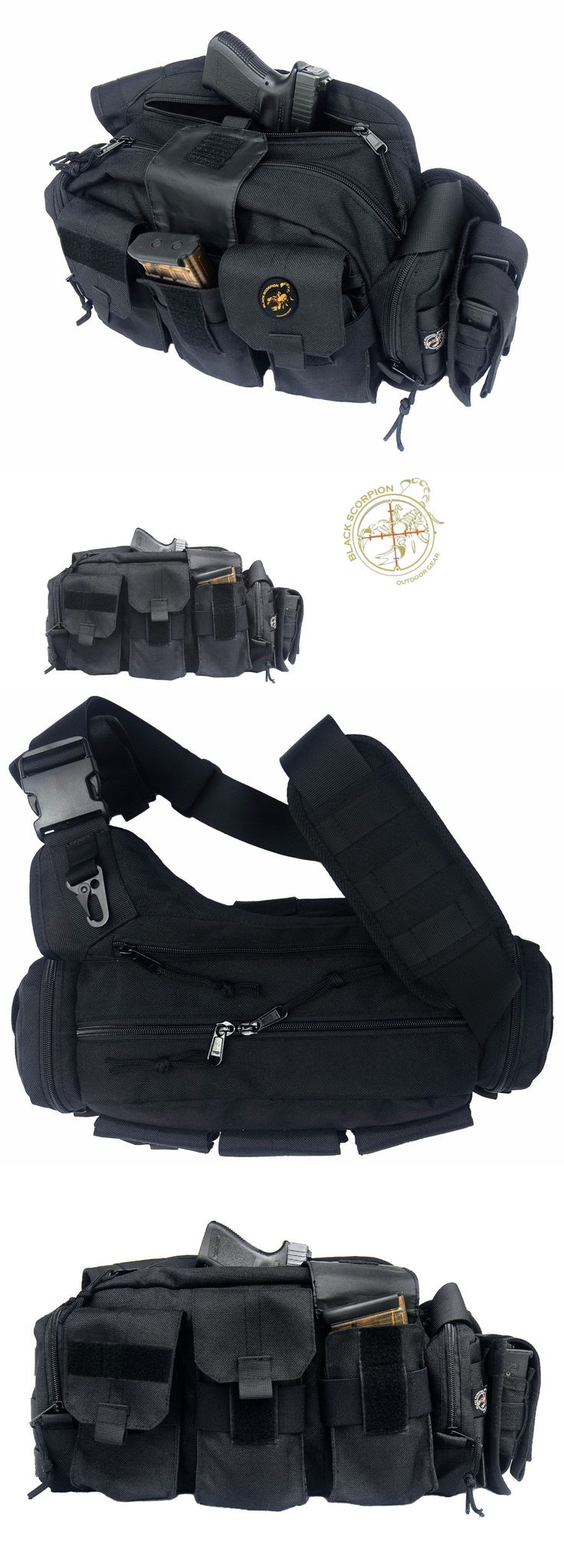Tactical Bags and Packs 177899: Punisher Response Tactical Bag (Bail Out Bag ) Concealed Weapon Black Scorpion -> BUY IT NOW ONLY: $33.99 on eBay!
