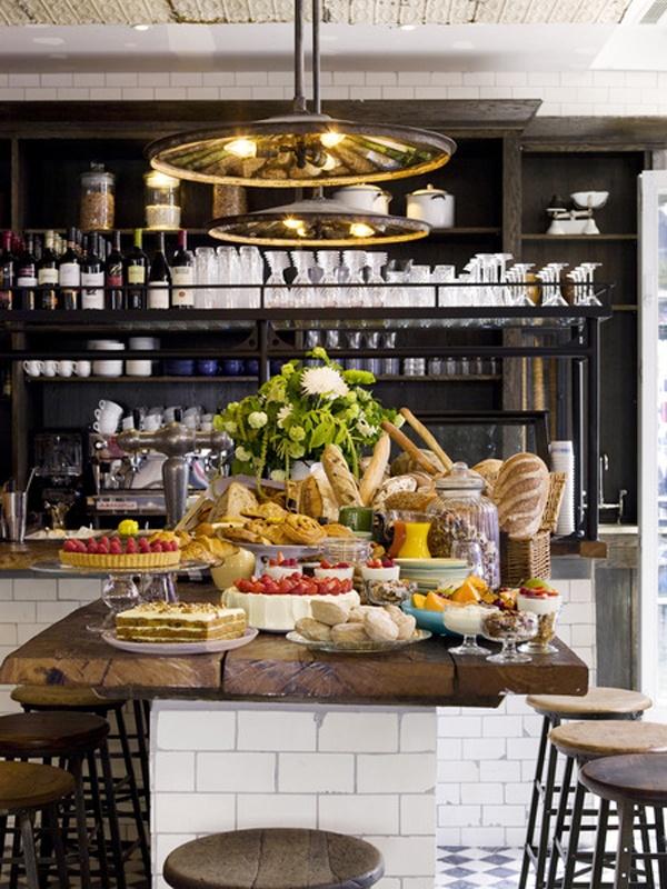 communal tableKitchens Design, Pizza East, Living Room Design, Subway Tile, Interiors Design, Kitchens Islands, Design Kitchens, Modern Kitchens, East Portobello