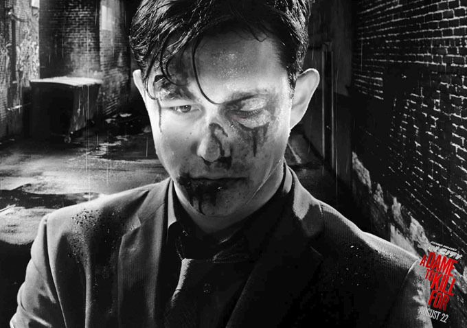 Josh Brolin and Joseph Gordon-Levitt Look Beat Up in New SIN CITY: A DAME TO KILL FOR Character Posters
