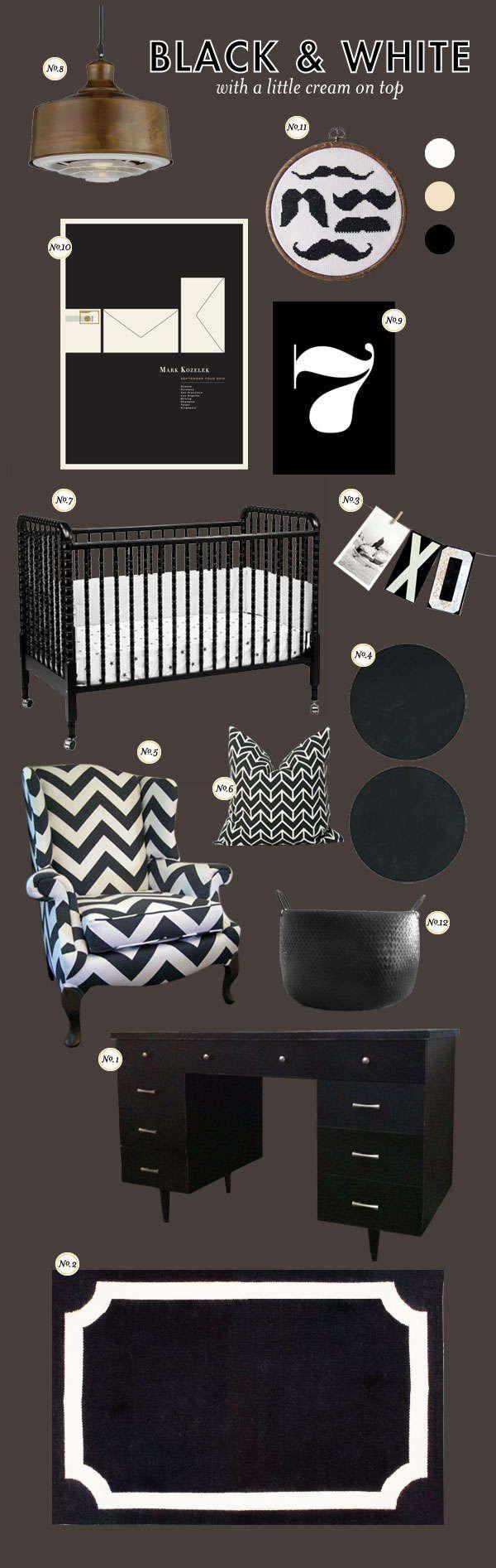 black & white (for a boy)