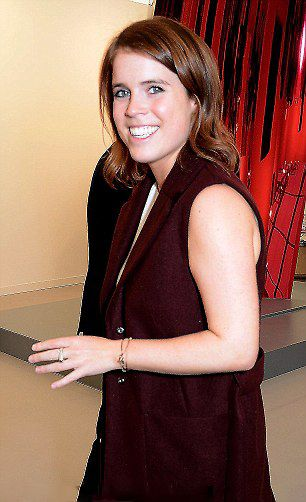 Princess Eugenie of York attends the VIP private view of the Frieze Art Fair 2016 in Regent's Park on October 5, 2016 in London, England.